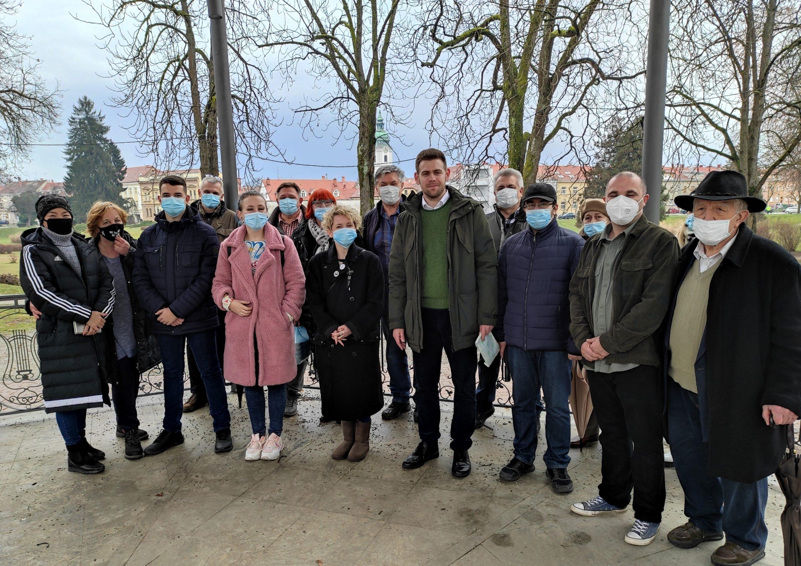 Dimitrije Birač na čelu Nove ljevice u Karlovcu