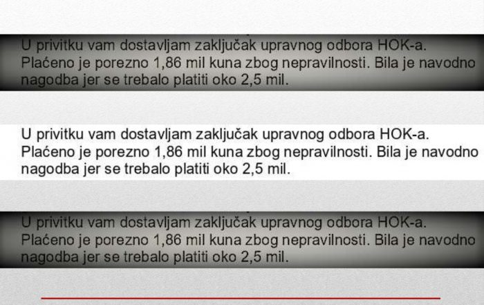 Ranogajec (HOK) oštetio obrtnike za 1,86 milijuna kuna?